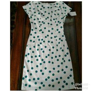 Shabby Apple Polka-dot Short Sleeve Dress Size 2